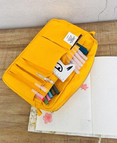 japones moda plana lapis saco criativo diario