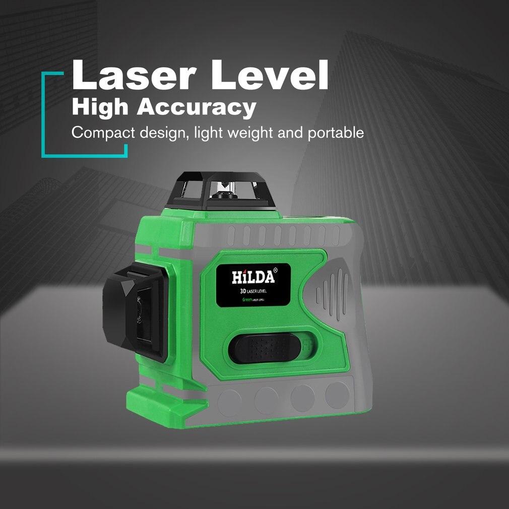 Ligne d'alignement auto-nivelante au niveau Laser Laser à ligne transversale horizontale et verticale avec Base rotative à 360 degrés - 3