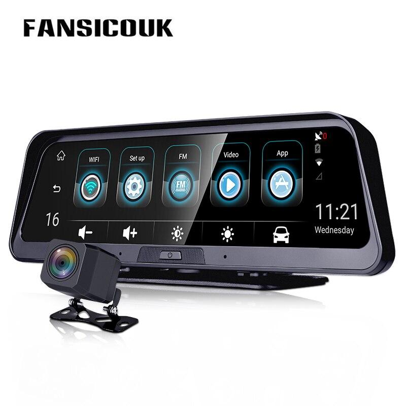 Car Dvr 4G ADAS Dash Camera Android 10'' Rearview Mirror Camera GPS WiFi Parking Monitor Recorder Dash Cam E98