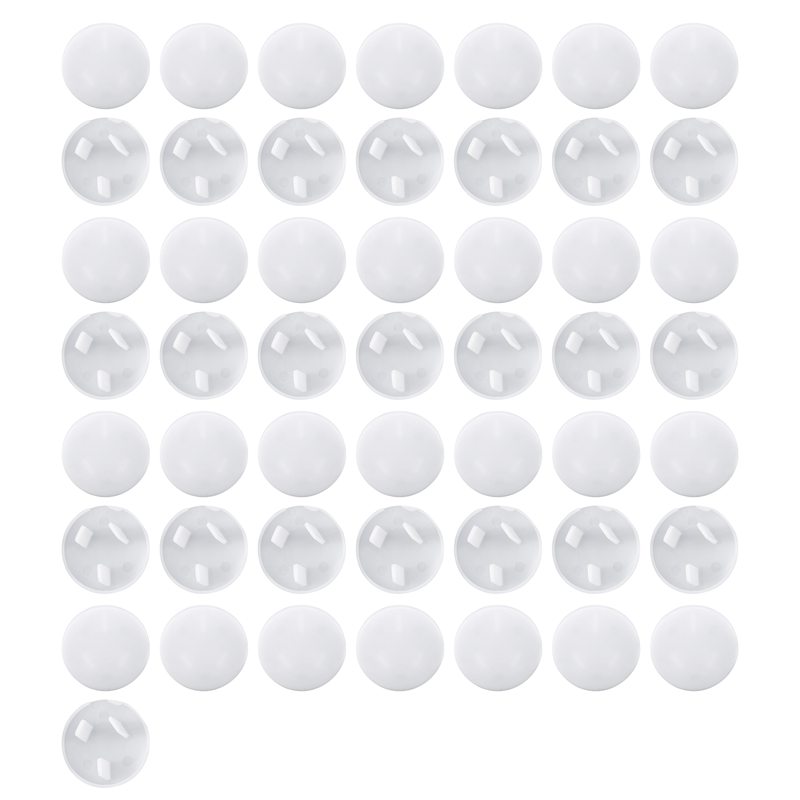 50Pcs Anti Electric Shock Plugs Protector Cover Cap Power Socket Electrical Outlet Baby Children Safety Guard Three holes