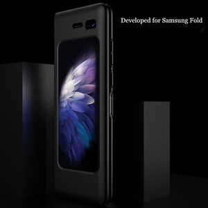 """Image 3 - 360 Full Protection Case For Samsung galaxy Fold Case Hard PC Slim Matte Back Protective Cover For Galaxy Fold 7.3"""" Shockproof"""