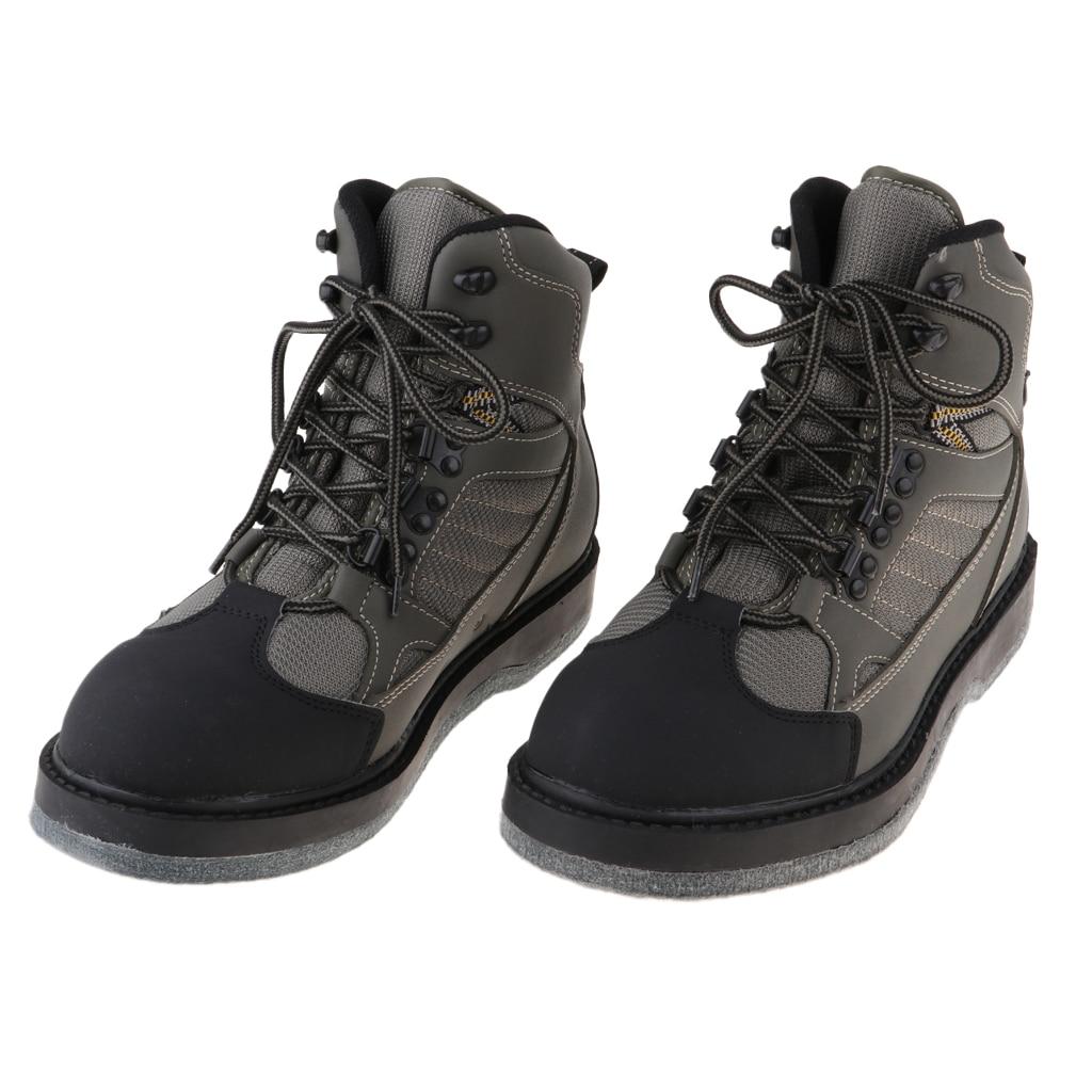 Мужская обувь для рыбалки; уличная дышащая водонепроницаемая обувь; противоскользящие рыболовные сапоги для охоты
