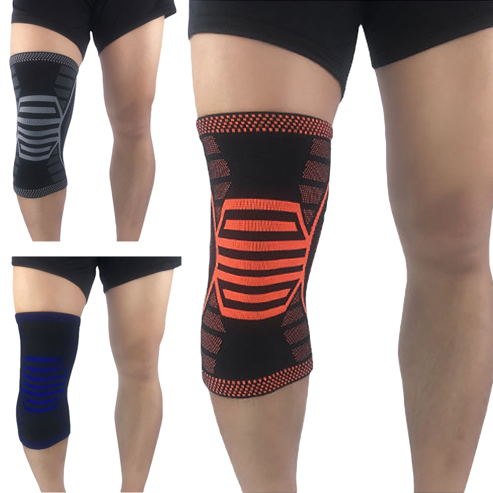 Sports Stretch Knee Support Brace Training Elastic Protection Knee Sleeve