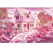 Educational toys 1000 pieces of adult puzzle difficult candy house early development of intellectual puzzle landscape style gift