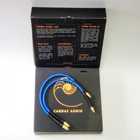 Cardas Clear Light Interconnect Cable for CD Play AMP audio rca cable with Gold plated Original box