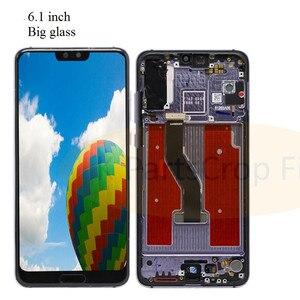 "Image 4 - TFT 6.1 ""LCD Für Huawei P20 Pro LCD mit rahmen Display Screen Touch Digitizer Montage P20 Pro CLT AL01 l29 Lcd P20 Plus Display"