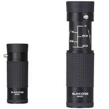 8X21 охотничий Профессиональный Телескопический Монокуляр телескоп Оптическое стекло Портативный срок службы водонепроницаемый бинокль шпионское стекло монокль