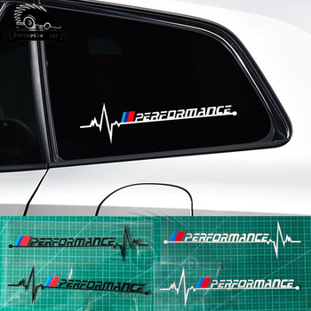 2pcs Car window performance Emblem sticker For BMW 1 2 3 4 5 7 All Models F10 F20 F30 E36 E90 E46 X1 X3 X5 X6 G20 G30 car decal image
