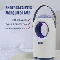 Behogar urządzenie przeciw komarom światło przenośne elektryczne lampa LED do moskitiery urządzenie przeciw komarom lampa pułapka z gwiaździstym gwieździste niebo funkcja projektora dla domu