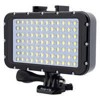 Nouveau 84 lampe LED étanche lumière de remplissage de plongée pour GoPro Hero8 7 6 5 4 Xiaomi Yi 4K SJCAM DJI Osmo Action Canon accessoires reflex