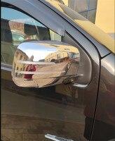 Auto zubehör ABS Chrom rückspiegel abdeckung Trim/rückspiegel Dekoration Für ISUZU D-MAX DMAX MU-X 2015-2018 auto styling