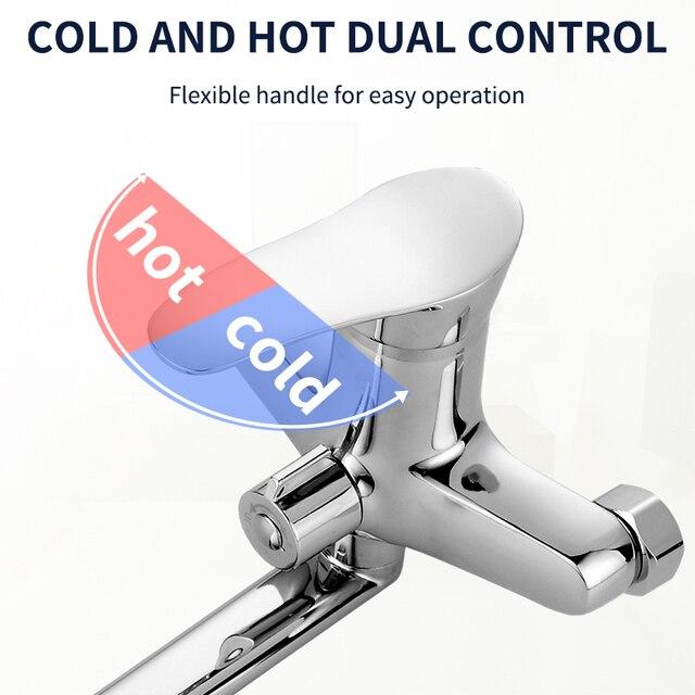 Olinia 욕조 샤워 시스템 샤워 헤드 욕조 믹서 샤워 믹서 욕조 수도꼭지 욕실 냉온수 믹서 ol8096