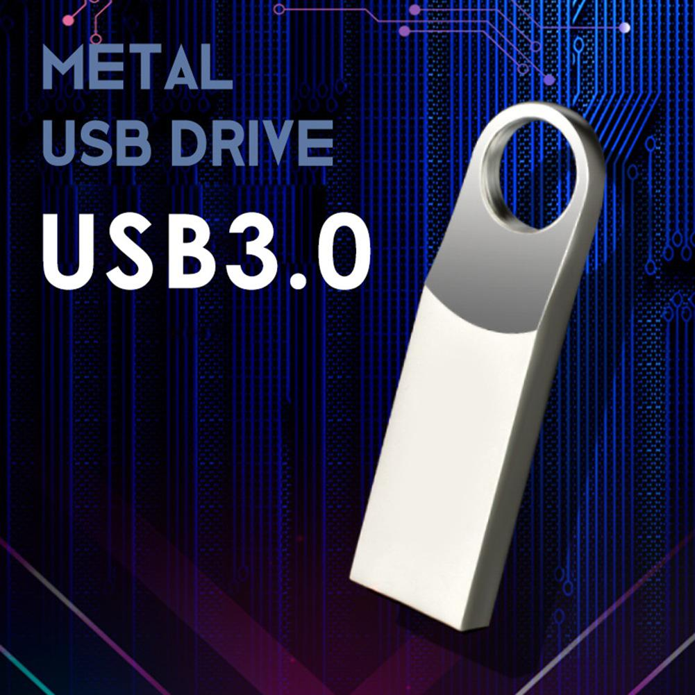 Pen Drive USb3.0 Memory Stick High Speed Flash Drive Memory Stick Metal Sliver Color 4GB 8GB 16GB 32GB 64GB 128GB Usb флешка