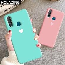 for VIVO Y15 Y17 Y12 U3X U10 Y19 U3 Case Candy Heart Matching Color So