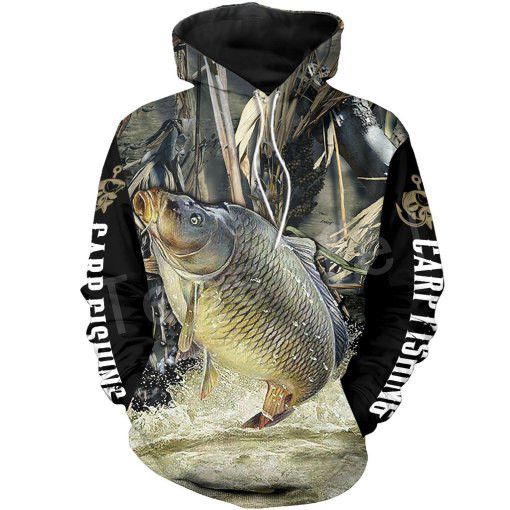 Tessffel New Fashion Animal Marlin Bass Fishing Harajuku Casual Pullover 3DPrint Zipper/Hoodie/Sweatshirt/Jacket/Mens Womens S17