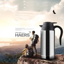 12 V Car Electric Kettle 750ml Car Stainless Steel Cigarette Lighter Heating Kettle Mug Vehicle Heating Cup Car Kettle car based heating stainless steel cup kettle travel trip coffee tea heated mug motor hot water for car or truck use 750ml 12v