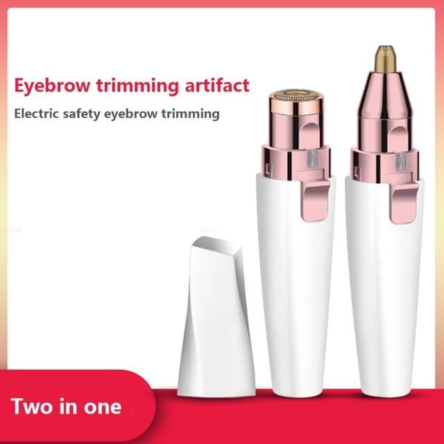 NEW Electric Eyebrow Trimmer/Face Eyebrow Hair Remover /Mini Eyebrow Shaver Razor/ Instant Painless Portable Epilator