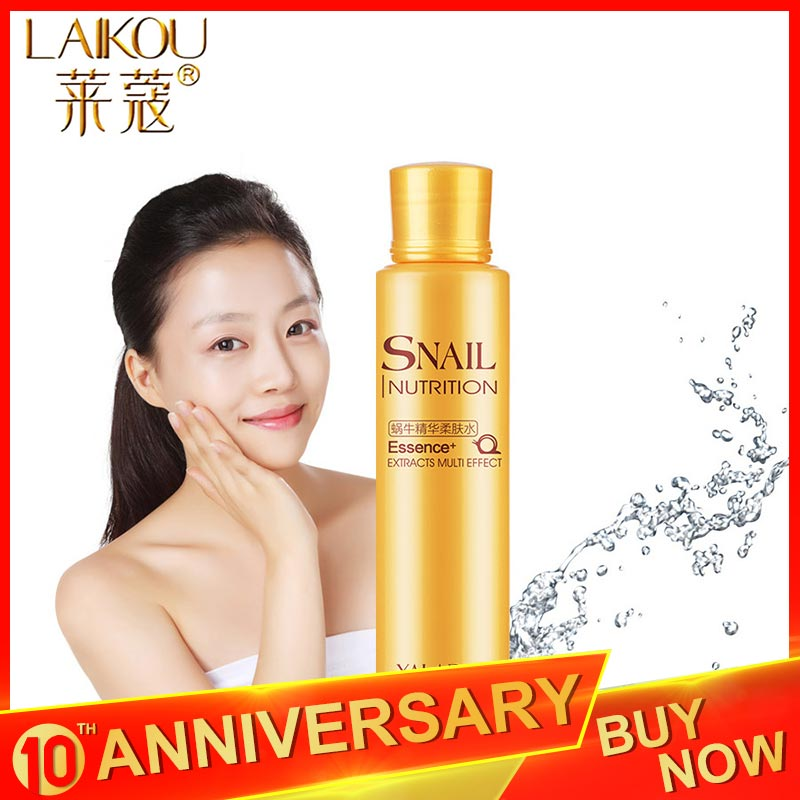LAIKOU Brand 120 Ml Toner Tonic Snail Glycerin Glycolic Acid Face Toner Makeup Water Face Toner Anti Aging Anti Wrinkle Natural