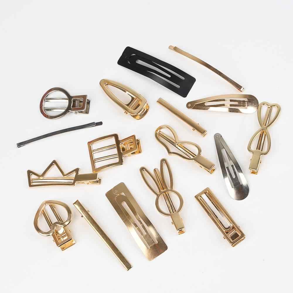 1PC plástico ABS perlas hecho a mano corazón arco gota Metal Clip materiales para bricolaje moda pelo joyería accesorios