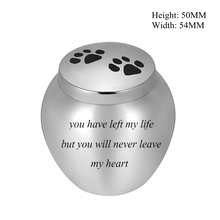 You have left my life but you will never leave my heart 50MM Height * 54MM Width Human/ Pet Ashes Holder Keepsake Urn Casket cliff chamberlin 3 movies you will never see