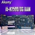 Akemy UX330UAR материнская плата для ноутбука ASUS UX330UAR UX330UA UX330U U3000U Mianboard i5-8250U 8G ram обмен