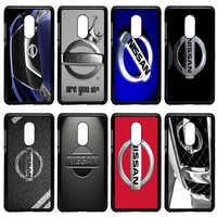 Hot Nissan Logo Car Print Cell Phone Case Hard Plastic Cover for Xiaomi Redmi 3X Mi 6 5 5S Plus Note 4X 2 3 3S 4 Pro Prime Shell