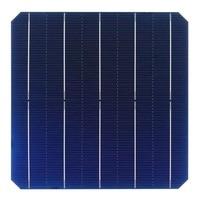 110Pcs 5W 156.75 * 156.75MM Photovoltaic Mono Solar Panel Cell Grade A High Efficiency For DIY Monocrystalline Silicon Panel