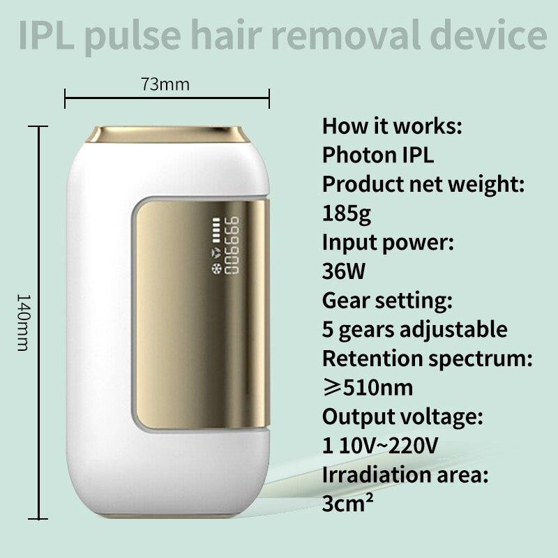 2021 depilação ipl depilador a laser permanente