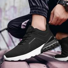 Spring Autumn Sneakers Walking Shoes Mens Fly Knit Breathable Outdoor Ultra Light Casual Running Single