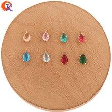 Cordial Design accessoires de bijouterie 6x11MM, 100 pièces, fabrication de boucles doreilles, pendentifs, fait à la main, fabrication de bijoux, breloques en cristal