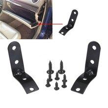 Подсветки перчаточного ящика крышкой, набор для ремонта изделий шарнирные кронштейны с винтами для Audi A4 S4 RS4 B6 B7 8E шарнир, запасная часть ком...