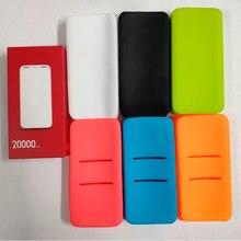 Em estoque anti-gota silicone proteger caso capa para redmi 20000mah power bank capa de proteção 10000mah caso de banco de potência pb