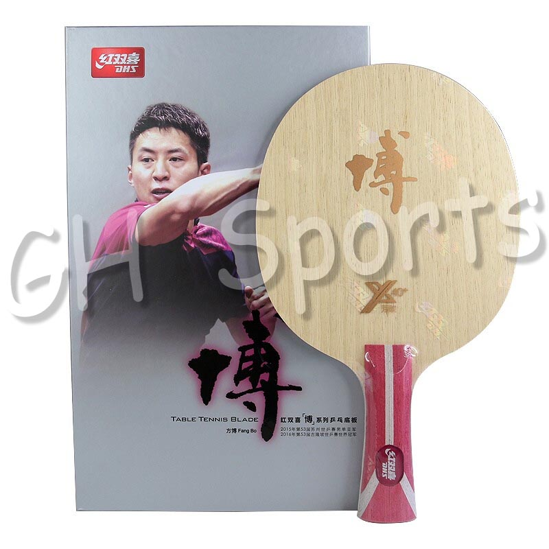 DHS 2019 New Hurricane BO 2X (Hurricane B2X, B2-X) Fang Bo 2 X Arylate Carbon ALC Racket Table Tennis Blade Ping Pong Bat Paddle