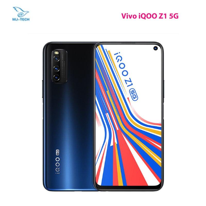 Vivo original iqoo z1 5g mediatek 1000 mais celular 4500mah 44w de carregamento 144hz atualizar taxa 48mp câmera principal telefone móvel