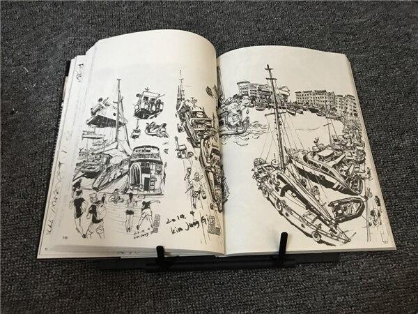 um kim junggi manuscrito linha de desenho livro