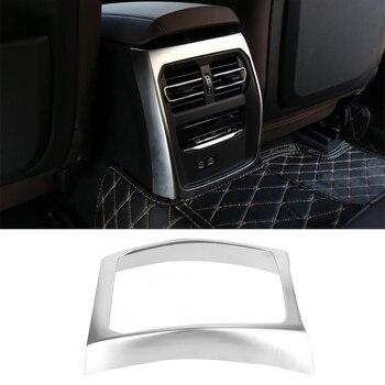 Для BMW 3 серии G20 G28 325 2019 2020 Обшивка Рамы вентиляционного отверстия ABS Хромированная Автомобильная задняя Обшивка Рамы вентиляционного отвер...