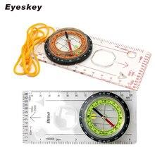 Компактный точный Мини-Компас Eyeskey, практичный направляющий инструмент для выживания, многофункциональный компас для пешего туризма, Уличн...