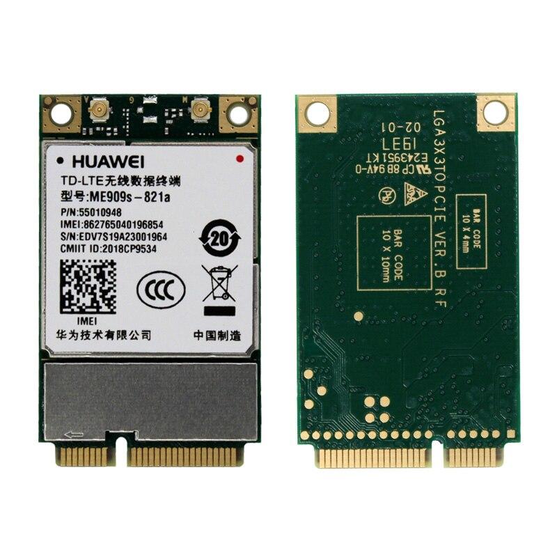 HuaWei ME909s-821a 4G CAT4 LTE M2M Full Network Mini Pcie Module LTE-FDD B1 B3 B5 B8 B38 B39 B40 B41ME909S-821 Updated Version