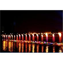 Waterscape fontanna krajobraz woda i ogień mieszania dysza ziejącego ogniem efektów specjalnych dyszy square garden fontanna muzyczna tanie tanio HOYB03 Metal