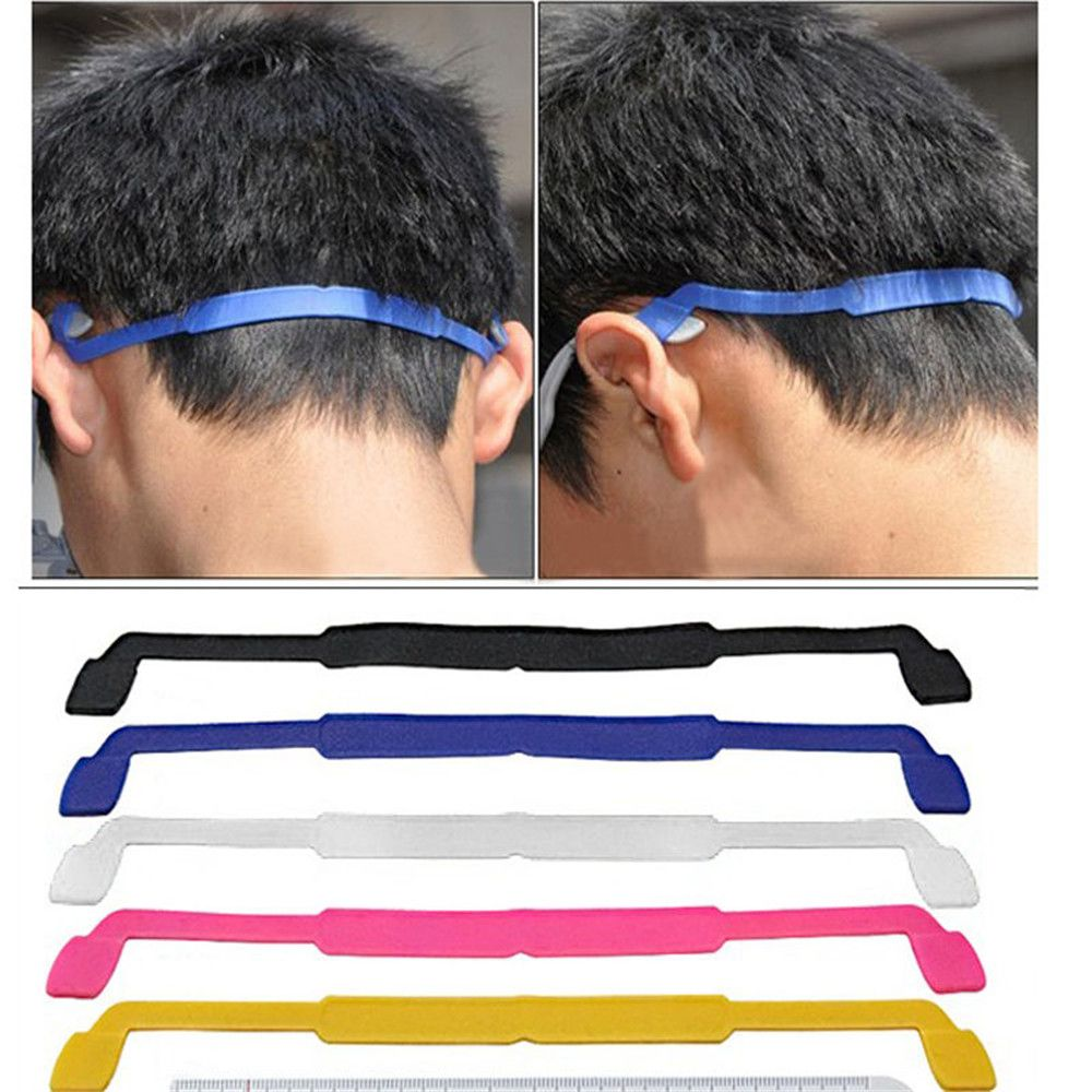 Magnetic Silicone Eyeglasses Strap Glasses Sunglasses Sports Band Cord Holder Rubber Elastic Fixed Glasses Strap