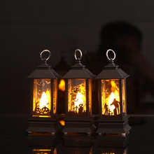 Halloween Decorative Ghost Witch Lights Nightlight LED Pumpkin Lantern Hallow Party Decoration Props 2019