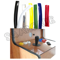 Molde t para arcade arcade mame  molde de 16mm /19mm de largura e 32.8 pés de 10m de comprimento armário do jogo cromado/azul/amarelo etc.