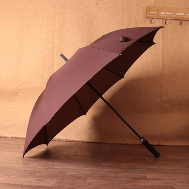 Customizable Gift Umbrella All Glass Fiber Golf Advertising Umbrella Wholesale Men Business Umbrella Golf Umbrella