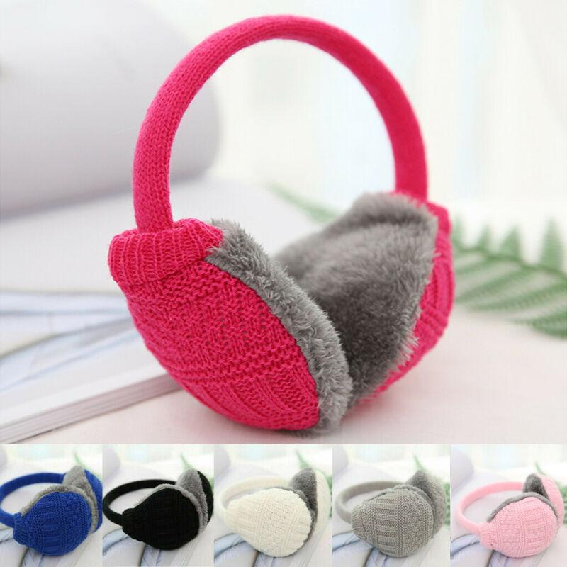 UK Ear Muffs Earmuffs Ear Warmer HeadBand Plush Ladies Men Girls Boys Winter Hot Fashion 2019
