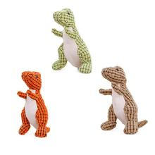 New High-quality Vocal Dog Toy Bite-Resistant Big Dinosaur Plush Cartoon For Men And Women As Special Gift