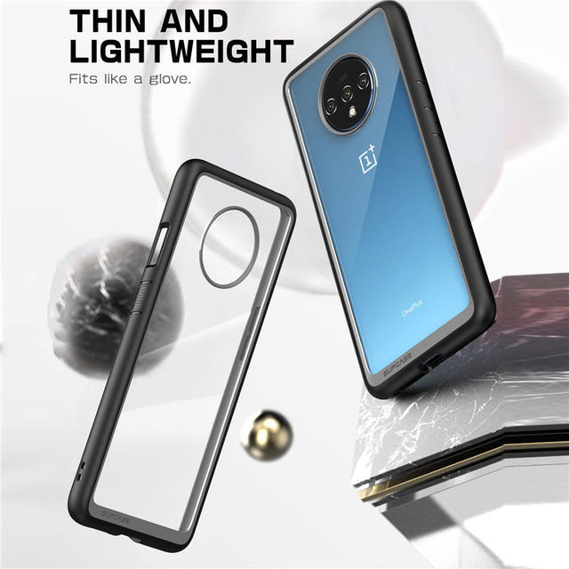 SUPCASE For One Plus 7T Case (2019) UB Style Anti knock Premium Hybrid Protective TPU Bumper + PC Cover Case For OnePlus 7T