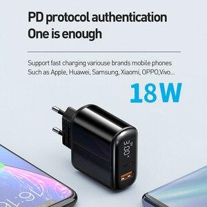 Image 4 - Mcdodo cargador USB de carga rápida para móvil, cargador de teléfono de 18W de carga rápida 4,0 PD para iPhone 11 Max Pro X XR XS Xiaomi Samsung S10 9 Huawei