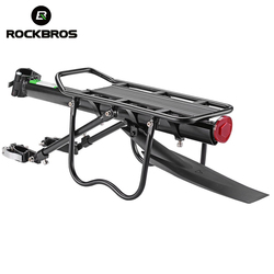 ROCKBROS Bicycle Rack MTB Road Bike Shelf Aluminum Alloy Bike Rack Quick Release Manned Rear Tailstock Bicycle Accessories