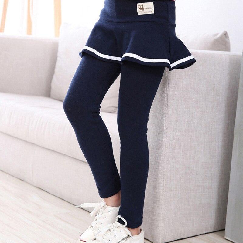 2019 Fall Girl Sprot Legging Skirt-pants Cake Skirt Baby Girl Fall Leggings Children's Girls Skirt Pant for 3-8 Years 1