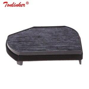 Image 1 - Araba kabin filtresi Oem A2028300018 Mercedes CLK A208 C208 1997 2003/SLK R170 1996 2004 modeli 1 adet aktif karbon filtre